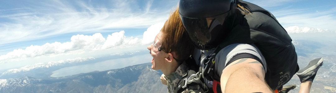 Tandem Sky Diving in Lake Tahoe