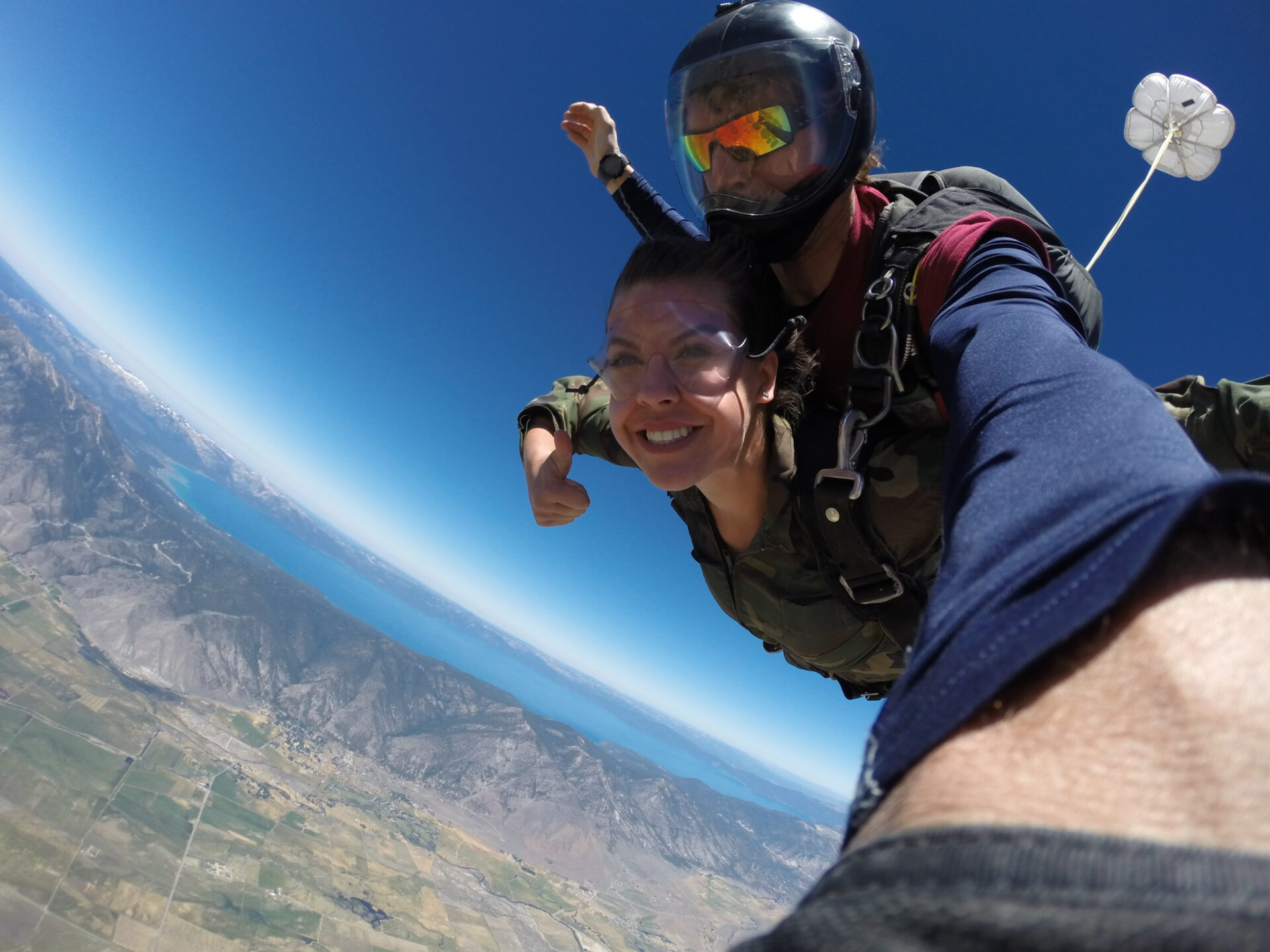 Skydiving in California